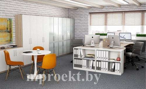 Фото для Офисная мебель - письменные столы, стеллажи, журнальные столики, шкафы для документов, шкафы-витрины.