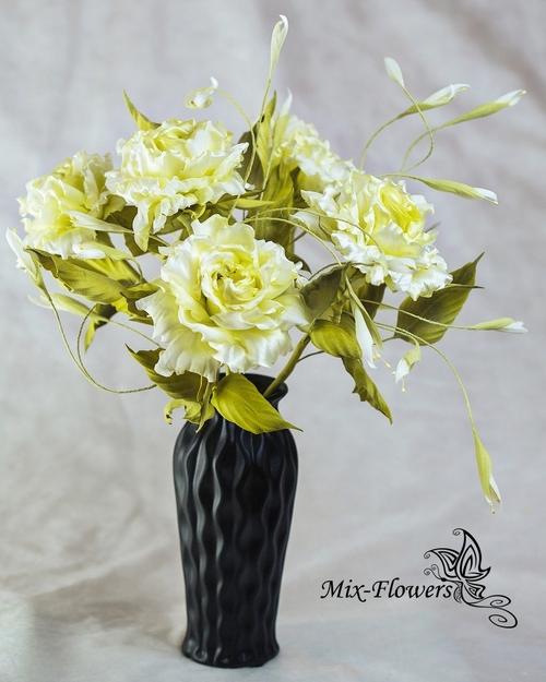 Фото для Букет шелковых роз