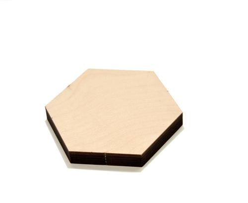 Photo of Шестигранники из шлифованной фанеры для декора, декупажа, творчества