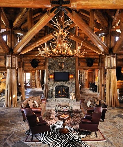 Фото для Гармоничное сочетания стиля и уюта деревянного дома