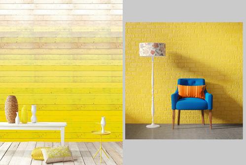 Фото для Желтый - цвет комнаты, если за окном комнаты 7 из 12 месяцев пасмурно.