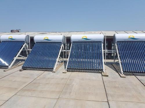 Фото для Солнечные активные водонагреватели