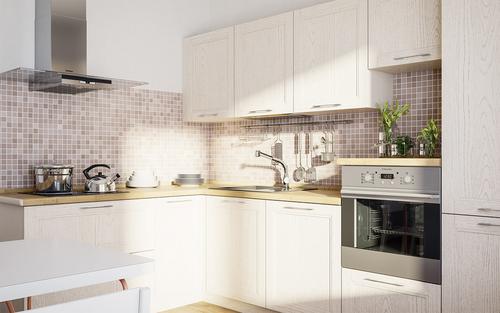 Фото для Угловая кухня массив ольхи