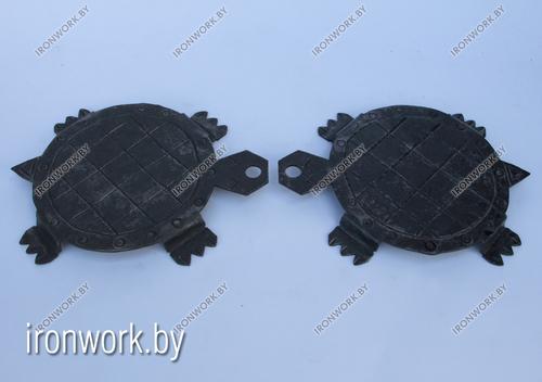 Фото для Кованая подставка под горячее «Черепаха». Ручная работа!