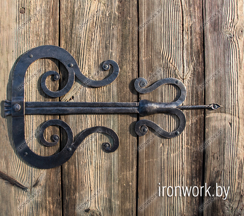 Фото для Кованые дверные петли. Ручная работа!