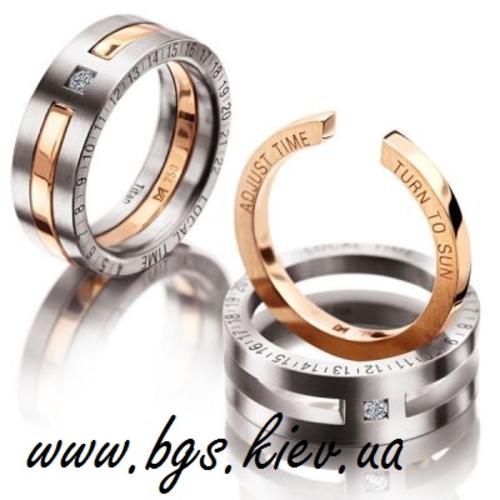 Photo of Обручальные кольца из белого золота
